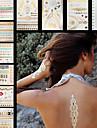 Временные тату Тату со стразами Тату с цветами Тату с тотемом ПрочееNon Toxic С рисунком Большой размер Hawaiian Нижняя часть спины
