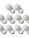 SO.K 10pcs BA15S(1156) Auto Lamput 2 W 200 lm LED Takavalot For Universaali