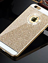 Para iPhone X iPhone 8 iPhone 8 Plus iPhone 6 iPhone 6 Plus Case Tampa Com Strass Capa Traseira Capinha Glitter Brilhante Rigida PC para