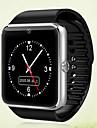 GT08 Herren Smartwatch Android Bluetooth Touchscreen Freisprechanlage Kamera Audio Anti-lost Timer Stoppuhr Schrittzaehler Anruferinnerung Hoehenmesser / Kalender / Fernbedienung / 0.3MP