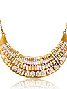 Women\'s Shape Hollow European Statement Necklace Alloy Statement Necklace Party Daily Casual
