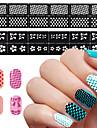 1 Diecut Manicure Pochoir Bijoux à ongles Mode Adorable Haute qualité Quotidien