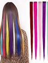 Прямой Классика Искусственные волосы Наращивание волос На клипсе Омбре Повседневные