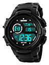 Skmei® Men\'s  Outdoor Sports Multifunction LED Watch 50m Waterproof Assorted Colors Wrist Watch Cool Watch Unique Watch Fashion Watch