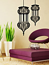 9330 Plane Wall Sticker Creative Muslim culture wall stickers DIY Sitting Room Bedroom House Decoration
