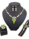 Jewelry-Necklaces / Earrings / Rings / Bracelets & Bangles(Alloy / Rhinestone)Wedding / Party Wedding Gifts