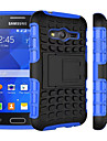 2 in 1 Dual-color Detachable PC+TPU Hybrid Case with Kickstand for Samsung Galaxy Core Prime/Grand Prime/Young 2/Ace 4