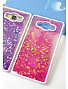 Fun Glitter Star Liquid Back Quicksand Transparent Clear PC Hard Cover For Samsung Galaxy J5