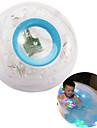 смешно ребенком ванны привело свет игрушка