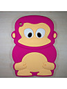 아이 패드 미니 3/2/1 (모듬 된 색상)에 대한 원숭이 모델 충격 방지 커버 귀여운 고무 실리콘 케이스