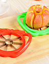 1 pieces Apple Cutter & Slicer For Pour Fruit Acier Inoxydable Creative Kitchen Gadget Ecologique Haute qualite