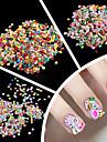 1000pcs Nail Jewelry Tırnak Tasarımı Tasarımı Mevye / Çiçek / Moda Sevimli Günlük