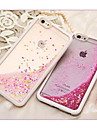 Pour Coque iPhone 6 Coques iPhone 6 Plus Liquide Coque Coque Arriere Coque Brillant Flexible PUT pour iPhone 6s Plus/6 Plus iPhone 6s/6