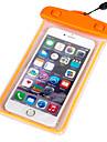 아이폰 6의 어두운 방수 케이스에서 빛 플러스