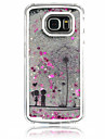 Case For Samsung Galaxy Samsung Galaxy Case Flowing Liquid Back Cover Dandelion PC for S6 edge S6 S5 S4
