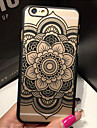 Capinha Para iPhone 5 Apple Capinha iPhone 5 Transparente Estampada Capa traseira Mandala Rigida PC para iPhone SE/5s iPhone 5