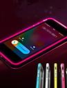 아이폰 7 플러스 전화는 아이폰 5 / 5 초 투명 TPU 백 커버 케이스를 깜박했다