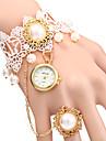 Women\'s Elegant Pearl Design Bracelet Quartz Wristwatch Cool Watches Unique Watches
