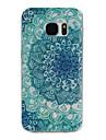 용 Samsung Galaxy S7 Edge 패턴 케이스 뒷면 커버 케이스 만다라 TPU Samsung S7 edge / S7