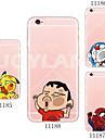 Coque Pour iPhone 5 Apple Coque iPhone 5 Ultrafine Transparente Motif Coque Bande dessinee Flexible TPU pour iPhone SE/5s iPhone 5