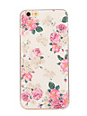 Pour iPhone 8 iPhone 8 Plus iPhone 6 iPhone 6 Plus Etuis coque Motif Coque Arriere Coque Fleur Flexible PUT pour iPhone 8 Plus iPhone 8