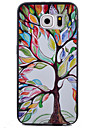 For Samsung Galaxy S7 Edge Pattern Case Back Cover Case Tree TPU Samsung S7 Active / S7 plus / S7 edge / S7 / S6 edge / S6