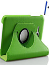 New 360 Rotating PU Leather Stand Case Cover For Samsung Galaxy Tab 3 Lite 7.0 T110 Tablet+Stylus+Film