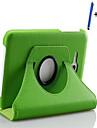 Pour Avec Support Veille/Deverrouillage Automatique Clapet Coque Coque Integrale Coque Couleur Pleine Dur Cuir PU pour Samsung Tab 3 Lite