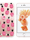 Pour Coque iPhone 6 Coques iPhone 6 Plus Transparente Motif Coque Coque Arrière Coque Dessin Animé Flexible PUT pouriPhone 7 Plus iPhone