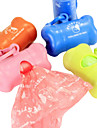 Cat Dog Poop Bags Bulk roll Cleaning Portable Cleaning Care Disposal Random Color