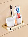 Держатель для зубных щеток Гаджет для ванной / Ti-PVD Неоклассицизм