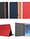 mode retro en cuir de luxe rabat portefeuille support pour Apple iPad air 2/6