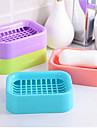 Creative DoubleDraining Soap Holder Non-slip Soap Dish Soap Box