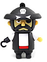 ZPK07 64GB One Piece Style Cartoon Pirate USB 2.0 Flash Memory Drive U Stick