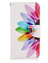 용 Samsung Galaxy S7 Edge 지갑 / 카드 홀더 / 스탠드 / 플립 케이스 풀 바디 케이스 꽃장식 인조 가죽 Samsung S7 edge / S7