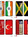 "iphone 6 / 6с тела наклейка кожа искусства: ""Индия, Jamaica, индейка, Чили"" (флаги серия)"