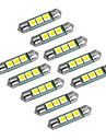 YouOKLight Festoon T10 Light Bulbs W SMD 5050 60lm lm Turn Signal Light Foruniversal