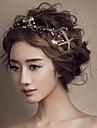 joias cabelo seafish ouro cabeca testa das mulheres para a festa de casamento