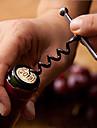 스테인레스 스틸 와인 병 오프너 코르크 금속 키 체인 야외 오프너