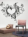 Abstrakti Romantiikka Muoti Fantasy Wall Tarrat Lentokone-seinätarrat Koriste-seinätarrat, Vinyyli Kodinsisustus Seinätarra Seinä