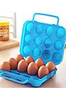 montadas caixas de ovos outdoor piquenique