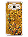 Case For Samsung Galaxy Samsung Galaxy Case Flowing Liquid Back Cover Glitter Shine PC for J5 J1 Ace J1 Grand Prime Core Prime