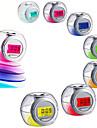 Будильник Цифровой пластик Светодиодные 1pcs