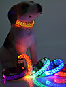 Colliers Lampe LED Ajustable/Reglable Leopard Nylon