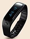 E02 Bracelet d'Activité Moniteur d'Activité Smart Watch Fixations PoignetEtanche Pédomètres Appel Vocal Fonction réveille Ecran tactile