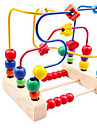 Around Beads Toy Abacuses Education Tools Educational Toy Toys Colorful Education Bird Wooden Wood 1 Pieces Kids Girls\' Boys\' Boys Girls