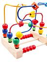 Brinquedo Pedagogico em Anel Abaco Ferramentas Educativas Brinquedo Educativo Brinquedos Colorido Educacao Passaro Madeira 1 Pecas Para