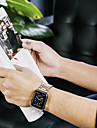 Watch Band for Apple Watch Series 3 / 2 / 1 Apple Butterfly Buckle Stainless Steel Wrist Strap