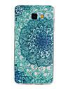 Blue National Wind Pattern TPU Material Phone Case for Samsung Galaxy Galaxy A3(2016)/Galaxy A5(2016)/Galaxy A7(2016)