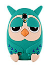 Cute Owl Soft Silicone Phone Case Back Cover For Samsung Galaxy S4 I9500